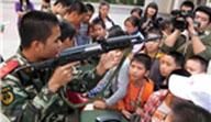 战场上正确握枪的技巧!,野外战役,真人CS,握枪姿势,瞄准线